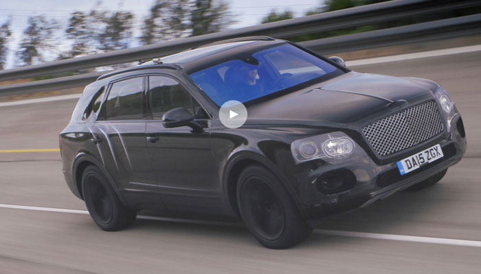 Bentley Bentayga Speed-Test